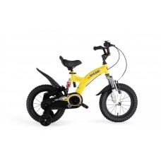 """Детский велосипед RoyalBaby FLYBEAR 14"""", OFFICIAL UA, желтый"""