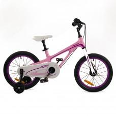 """Детский велосипед RoyalBaby Chipmunk MOON 16"""", Магний, OFFICIAL UA, розовый"""
