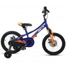 """Детский велосипед RoyalBaby Chipmunk EXPLORER 16"""", OFFICIAL UA, синий"""