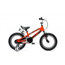 """Детский велосипед RoyalBaby SPACE NO.1 Steel 18"""", OFFICIAL UA оранжевый"""
