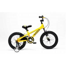 """Детский велосипед RoyalBaby BULL DOZER 16"""", OFFICIAL UA желтый"""