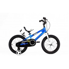 """Детский велосипед RoyalBaby FREESTYLE 16"""", OFFICIAL UA синий"""