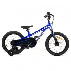 """Детский велосипед RoyalBaby Chipmunk MOON 16"""", Магний, OFFICIAL UA, синий"""