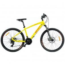"""Велосипед Spirit Spark 6.1 26"""", рама M, желтый/матовый, 2021"""