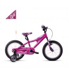 """Детский велосипед Ghost POWERKID 16"""" , розово-фиолетово-белый, 20121"""