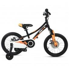 """Детский велосипед RoyalBaby Chipmunk EXPLORER 16"""", OFFICIAL UA, черный"""