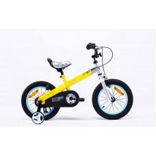 """Велосипед RoyalBaby BUTTONS 12"""", желтый"""