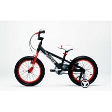 """Детский велосипед RoyalBaby BULL DOZER 16"""", OFFICIAL UA черный"""