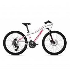"""Детский велосипед Ghost Lanao D4.4 24"""", бело-розовый, 2020"""