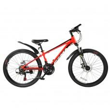 """Детский велосипед RoyalBaby FEMA MTB 1.0 24"""", OFFICIAL UA, красный"""