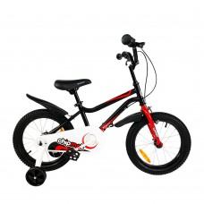 """Детский велосипед RoyalBaby Chipmunk MK 16"""", OFFICIAL UA, черный"""
