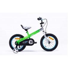 """Детский велосипед RoyalBaby BUTTONS Alu 12"""", зеленый"""
