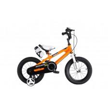 """Детский велосипед RoyalBaby FREESTYLE 16"""", OFFICIAL UA оранжевый"""