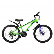 """Детский велосипед RoyalBaby FEMA MTB 1.0 24"""", OFFICIAL UA, лайм"""