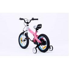 """Детский велосипед RoyalBaby BUTTONS Alu 12"""", розовый"""
