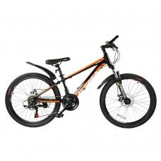 """Детский велосипед RoyalBaby FEMA MTB 1.0 24"""", OFFICIAL UA, черный"""