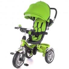 Детский велосипед трехколесный с ручкой KidzMotion Tobi Pro GREEN
