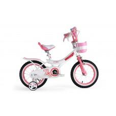 """Детский велосипед RoyalBaby JENNY GIRLS 12"""", OFFICIAL UA белый"""