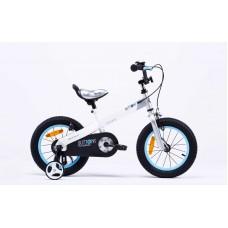 """Детский велосипед RoyalBaby BUTTONS 16"""", белый"""