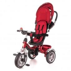 Детский велосипед трехколесный с ручкой KidzMotion Tobi Pro RED