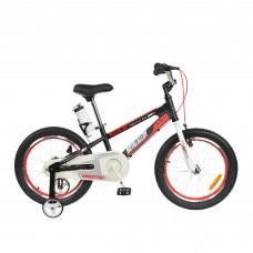 """Детский велосипед RoyalBaby SPACE NO.1 Steel 18"""", OFFICIAL UA, черный"""