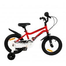 """Детский велосипед RoyalBaby Chipmunk MK 14"""", OFFICIAL UA, красный"""