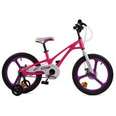 """Детский велосипед RoyalBaby GALAXY FLEET PLUS MG 18"""", OFFICIAL UA, розовый"""