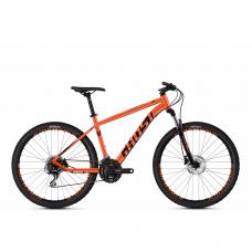 """Детский велосипед Ghost Kato 2.4 24"""", KID, оранжево-черный, 2020"""