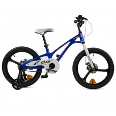 """Детский велосипед RoyalBaby GALAXY FLEET PLUS MG 18"""", OFFICIAL UA, синий"""