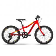 """Детский велосипед Haibike SEET Greedy 20"""" , рама 26 см,красный/черный/желтый, 2020"""