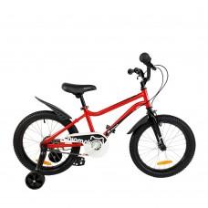 """Детский велосипед RoyalBaby Chipmunk MK 18"""", OFFICIAL UA, красный"""
