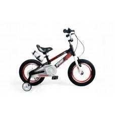 """Детский велосипед RoyalBaby SPACE NO.1 Alu 12"""", черный"""