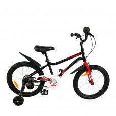 """Детский велосипед RoyalBaby Chipmunk MK 18"""", OFFICIAL UA, черный"""