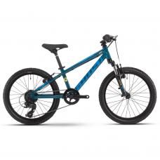 """Детский велосипед Ghost Kato Essential 20"""", рама one-size, синий, 2021"""