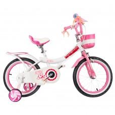 """Детский велосипед RoyalBaby JENNY GIRLS 14"""", OFFICIAL UA, белый"""