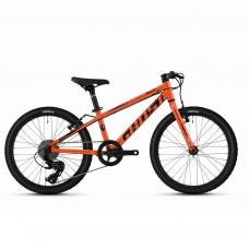 """Детский велосипед Ghost Kato R1.0 20"""", оранжево- черный, 2020"""